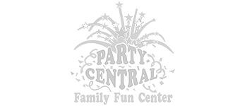 Party Central - Shreveport Web Design client