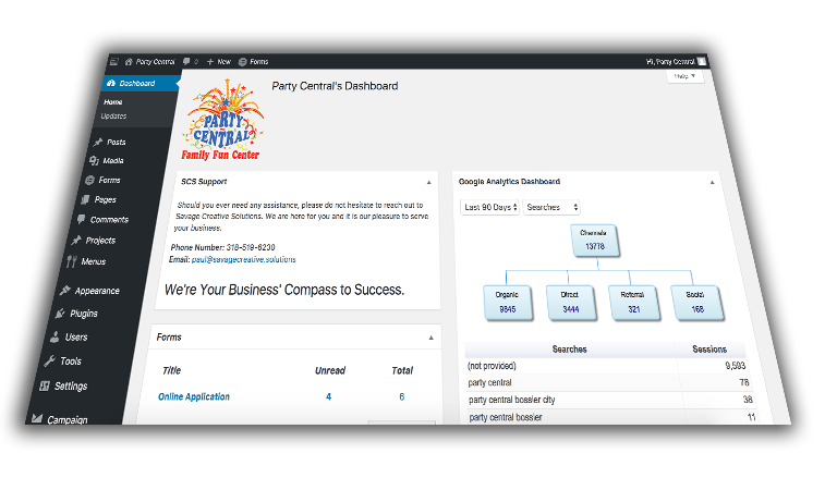 Web Dashboard and Implementations