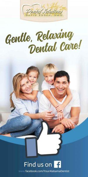 Vinyl Banner for Dental Solutions in Mobile, Alabama