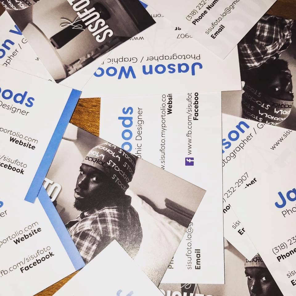 Business Cards for SisuFoto in Shreveport, LA